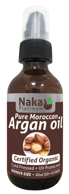 Naka Pure Moroccan Argon Oil 60ml