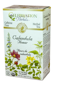 Celebration Herbals Calendula Flowers 24 Tea Bags