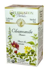 Celebration Herbals Chamomile Flowers 24 Tea Bags