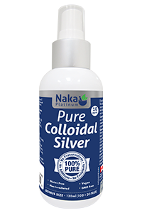 Naka Colloidal Silver Spray 120ml
