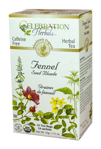 Celebration Herbals Fennel Seed Blonde 24 Tea Bags