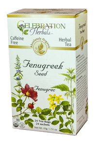 Celebration Herbals Fenugreek Seed 24 Tea Bags