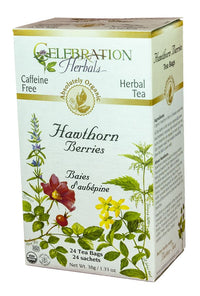 Celebration Herbals Hawthorn Berries 24 Tea Bags