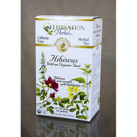 Celebration Herbals Hibiscus with an Organic Twist 24 Tea Bags