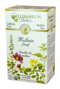 Celebration Herbals Mullein Leaf 24 Tea Bags
