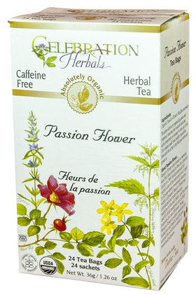 Celebration Herbals Passion Flower 24 Tea Bags