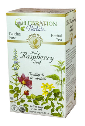 Celebration Herbals Red Raspberry 24 Tea Bags
