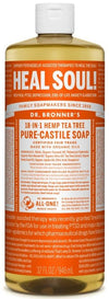 Dr. Bronner's All-One Pure-Castile Liquid Soap Tea Tree
