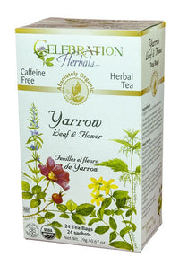 Celebration Herbals Yarrow 24 Tea Bags