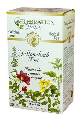 Celebration Herbals Yellowdock 24 Tea Bags