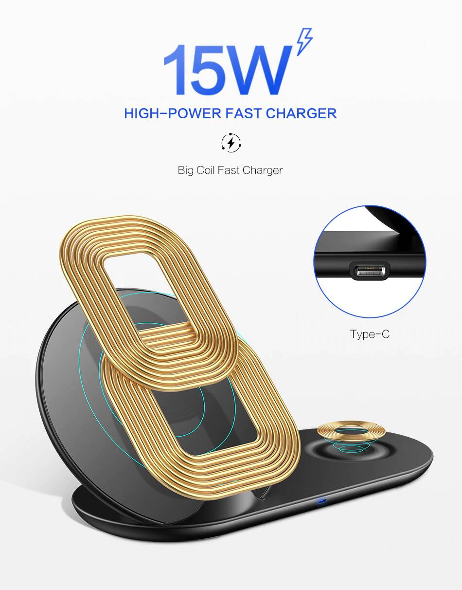 MASON 2-in-1 Wireless Charger