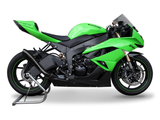 "HP CORSE Kawasaki ZX-6R (09/15) Slip-on Exhaust ""Hydroform Black"" (EU homologated)"