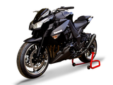 "HP CORSE Kawasaki Ninja 1000 / Z1000 Dual Slip-on Exhaust ""Hydroform Black"" (EU homologated)"