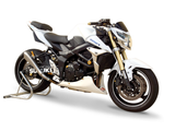 "HP CORSE Suzuki GSR750 Slip-on Exhaust ""Hydroform Satin"" (EU homologated)"