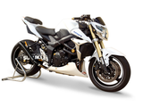 "HP CORSE Suzuki GSR750 Slip-on Exhaust ""Hydroform Black"" (EU homologated)"