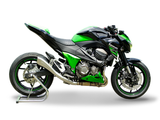 "HP CORSE Kawasaki Z800/E Slip-on Exhaust ""Hydroform Satin"" (EU homologated)"