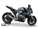 "HP CORSE Honda CB1000R Slip-on Exhaust ""Hydroform Satin Single"" (low position)"