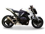 "HP CORSE Honda CB1000R Slip-on Exhaust ""Hydroform Satin Single"" (high position)"