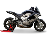 "HP CORSE Honda VFR800X Crossrunner (11/14) Slip-on Exhaust ""Hydroform Black"" (EU homologated)"