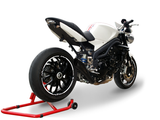"HP CORSE Triumph SPEED TRIPLE 1050 (08/10) Slip-on Exhaust ""Hydroform Black"" (EU homologated)"