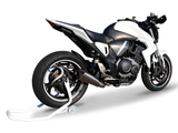 "HP CORSE Honda CB1000R Low Position Slip-on Exhaust ""Evoxtreme Satin Single"" (EU homologated)"