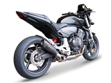 "HP CORSE Honda CB600F Hornet Slip-on Exhaust ""Evoxtreme Black"" (EU homologated)"