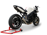 "HP CORSE Triumph Speed Triple 1050 (08/10) Slip-on Exhaust ""Hydroform Satin"" (EU homologated)"