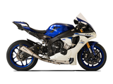 "HP CORSE Yamaha YZF-R1 (2015) Slip-on Exhaust ""Evoxtreme Satin"" (racing)"