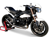 "HP CORSE Triumph Speed Triple 1050 (11/15) Slip-on Exhaust ""Evoxtreme Satin"" (EU homologated)"