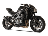 "HP CORSE Kawasaki Z900 Slip-on Exhaust ""Evoxtreme Black"" (EU homologated)"
