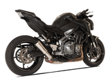 "HP CORSE Kawasaki Z900 Slip-on Exhaust ""GP-07 Satin with Wire Mesh"" (racing)"