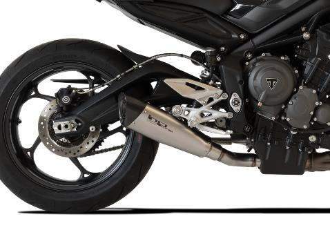 HP CORSE Triumph STREET TRIPLE 765 Slip-on Exhaust