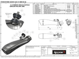 "HP CORSE Suzuki GSX-R1000 (05/06) Slip-on Exhaust ""Hydroform Black"" (EU homologated)"