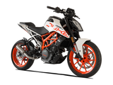"HP CORSE KTM 390 Duke (13/16) Slip-on Exhaust ""GP-07 Satin with Wire Mesh"" (racing)"