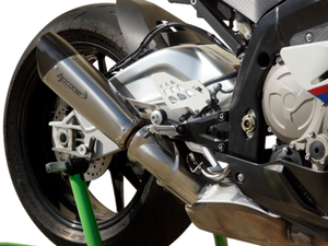 "HP CORSE BMW S1000RR (09/14) Slip-on Exhaust ""Evoxtreme Satin"" (EU homologated)"