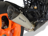 "HP CORSE KTM 1290 Super Duke R (2017 – ) Slip-on Exhaust ""Evoxtreme Satin"" (racing only)"