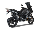 "HP CORSE BMW R1200GS (13/18) Slip-on Exhaust ""4-Track R Black"" (EU homologated)"
