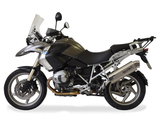 "HP CORSE BMW R1200GS (10/12) Slip-on Exhaust ""4-Track R Titanium"" (EU homologated)"