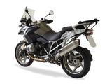 "HP CORSE BMW R1200GS (10/12) Slip-on Exhaust ""4-Track R Satin"" (EU homologated)"