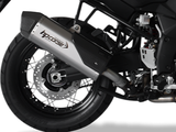 "HP CORSE Suzuki DL1000 V-Strom (13/19) Slip-on Exhaust ""SPS Carbon Titanium"" (EU homologated)"