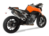 "HP CORSE KTM 790 Duke Slip-on Exhaust ""SP-3 Carbon Short Titanium"" (EU homologated)"