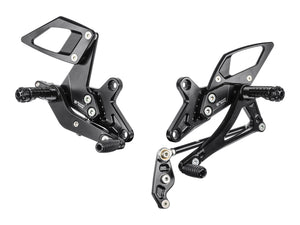 KT03 - BONAMICI RACING KTM 1290 Super Duke R / GT (17/...) Adjustable Rearset