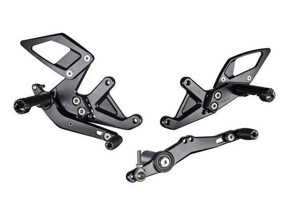 B006 - BONAMICI RACING BMW S1000R (2017 – ) Adjustable Rearset