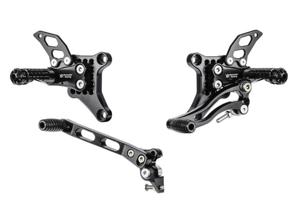 D1098 - BONAMICI RACING Ducati Superbike 848 / 1098 / 1198 (07/11) Adjustable Rearset