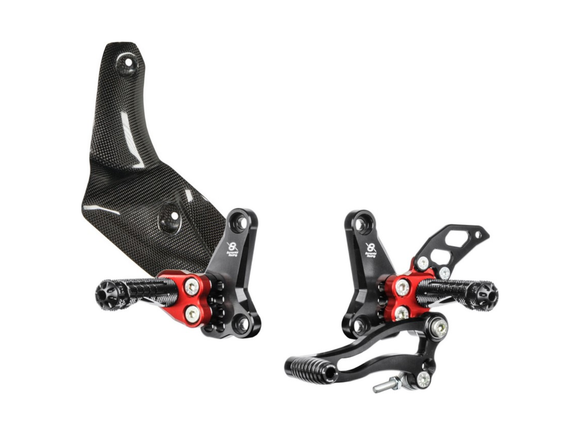 DSTR - BONAMICI RACING Ducati Streetfighter (09/15) Adjustable Rearset