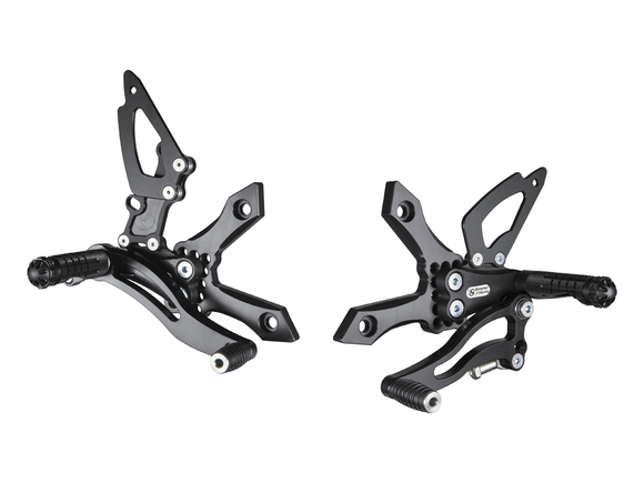 K009 - BONAMICI RACING Kawasaki Z750 / Z1000 Adjustable Rearset