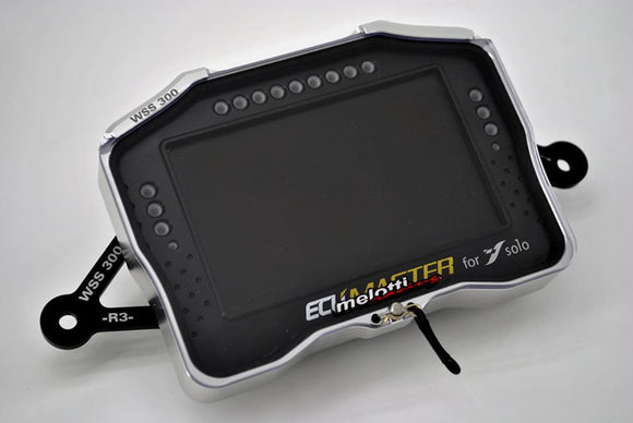 MELOTTI RACING Yamaha YZF-R3 SS300 Race Part – Cover for SS300 Sole Dashboard ECUMASTER