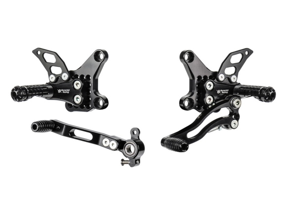 D916 - BONAMICI RACING Ducati Superbike 748 / 916 / 996 / 998 (94/04) Adjustable Rearset