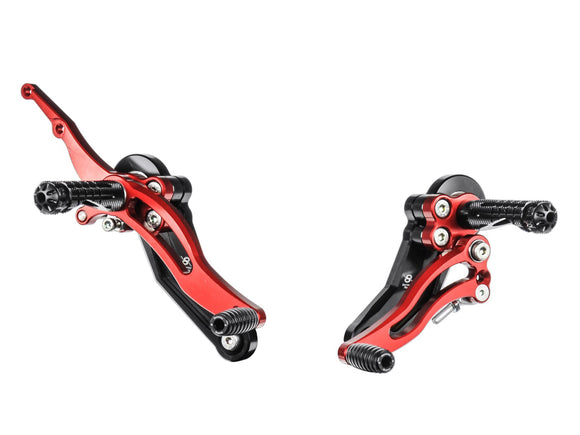 DH02 - BONAMICI RACING Ducati Hypermotard (07/12) Adjustable Rearset