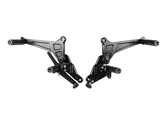 DSCR3 - BONAMICI RACING Ducati Scrambler 800 Adjustable Rearset (two-seater)